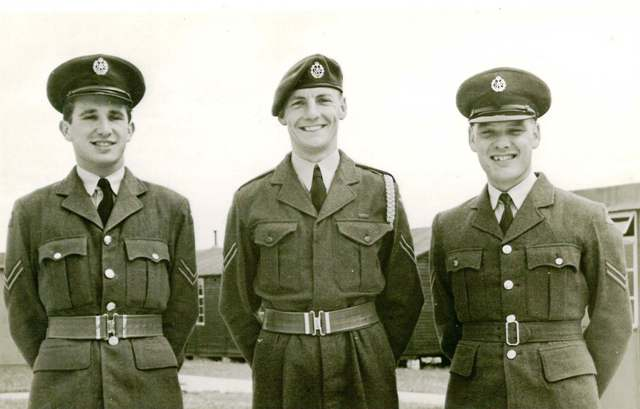 Our three tormentors, Corporals Sparrow, Gaunt and Abbot