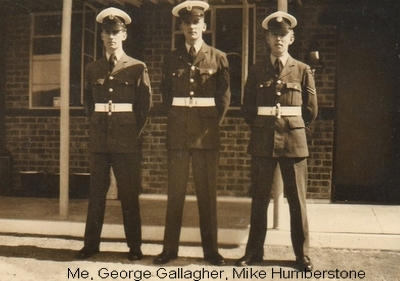 Me, George Gallagher, Mike Humberstone