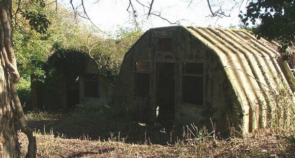 Huts at RAF St.Lawrence.
