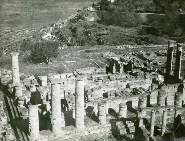 The ruins at Cyrene