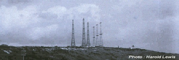 The six remaining towers