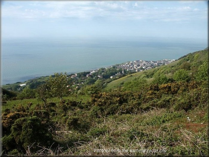 View of Ventnor from the Radar site