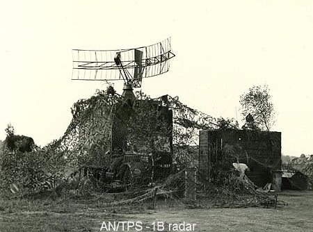 AN/TPs-1B radar at Luneburg