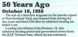 Extract from County Press 10.10.08